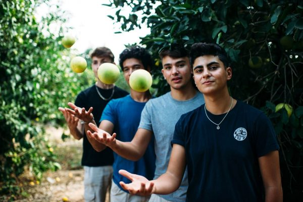high school program students israel